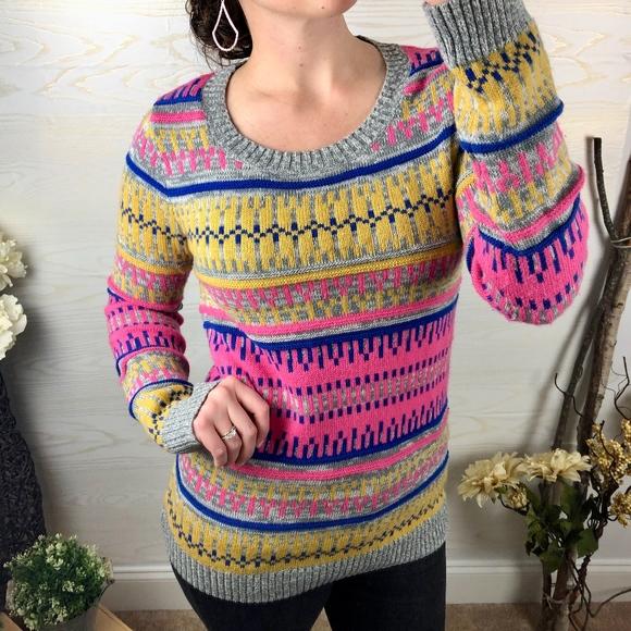 Massimo Sweaters - Retro Inspired Bold Striped Massimo Sweater